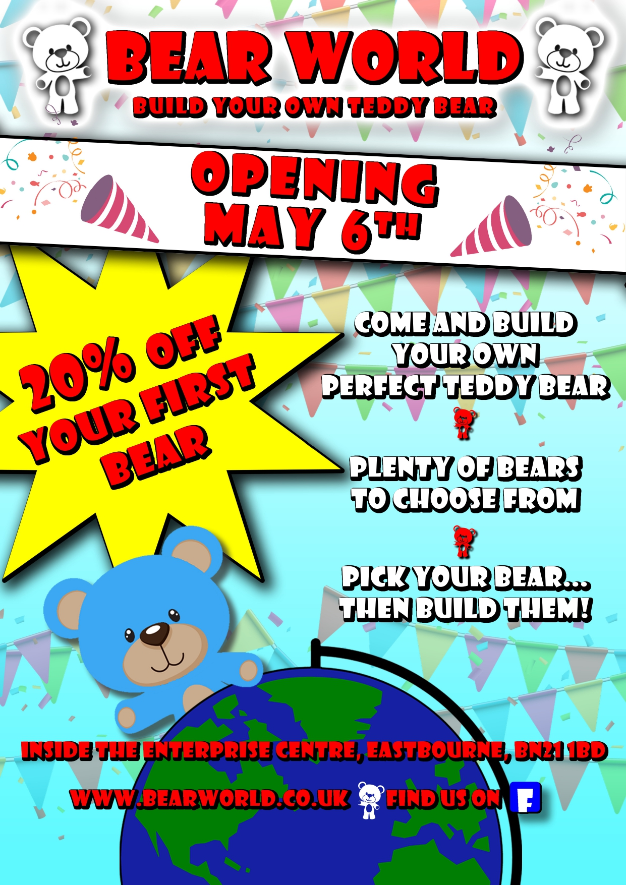 Bear World opens on the 6th May!