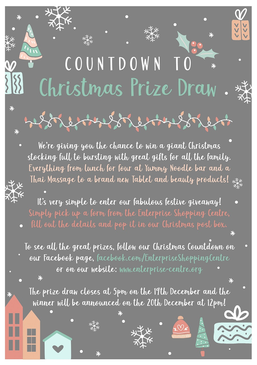 Countdown to Christmas Prize Draw